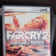 Videojuegos y Consolas: JUEGO PC - DVDROM - FARCRY 2 FORTUNE'S EDITION . Lote 168289920