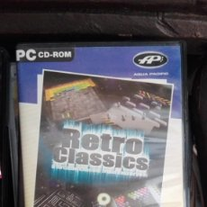 Videojuegos y Consolas: RETRO CLASSICS - OCHO CLÁSICOS JUEGOS ARCADE - CD-ROM PC. Lote 168290464