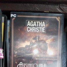 Videojuegos y Consolas: JUEGO PC 'AGATHA CHRISTIE, ASESINATO EN EL ORIENT EXPRESS'.. Lote 168290628