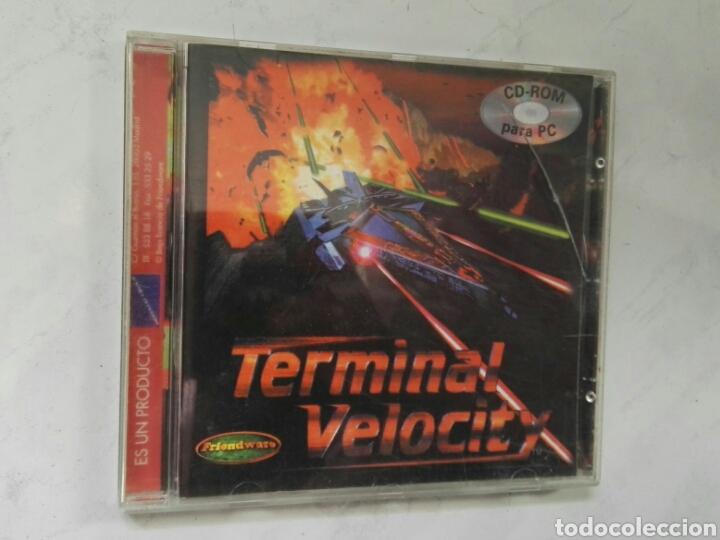 TERMINAL VELOCITY PC JUEGO DE NAVES (Juguetes - Videojuegos y Consolas - PC)