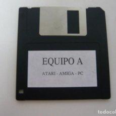 Videojuegos y Consolas: EQUIPO A DE ZAFIRO - IBM PC Y COMPATIBLES, ATARI Y AMIGA - VIDEOJUEGO RETRO VINTAGE - DISCO. Lote 168757680