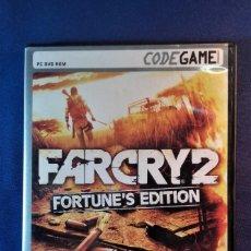 Videojuegos y Consolas: JUEGO DE PC FARCRY 2 FORTUNE´S EDITION. Lote 168862912