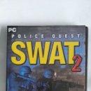 Videojuegos y Consolas: SWAT 2 POLICE QUEST PC. Lote 169007121