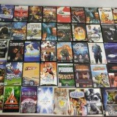 Videojuegos y Consolas: 619- LOTE JUEGOS PC CAJA E INSTRUCCIONES 36 SIN CAJA E INSTRUCCIONES 13 . Lote 169325120