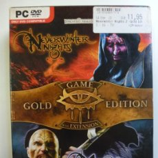 Videojuegos y Consolas: NEVERWINTER NIGHTS 2. MASK OF THE BETRAYER 2. GAME GOLD EDITION WITH EXTENSION. . Lote 169413076