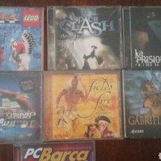 Videojuegos y Consolas: LOTE VIDEOJUEGOS PC AÑOS 90. Lote 169736693