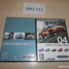 Videojuegos y Consolas: PC - COLIN MCRAE RALLY 2.0 + COLIN MCRAE RALLY 04 , EDICIONES ESPAÑOLAS. Lote 169923264