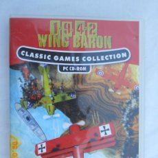Videojuegos y Consolas: JUEGO PC 1942 WING BARON - CLASSIC GAMES COLLECTION - SIN LIBRETO.. Lote 170033496
