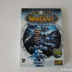 Videojuegos y Consolas: WORLD OF WARCRAFT . WRATH OF THE LICH KING EXPANSION. Lote 170288632