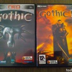 Videojuegos y Consolas: GOTHIC Y GOTHIC II PARA PC. Lote 170423032