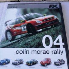 Videojuegos y Consolas: JUEGO PC COLIN MCRAE RALLY 04. Lote 171115004