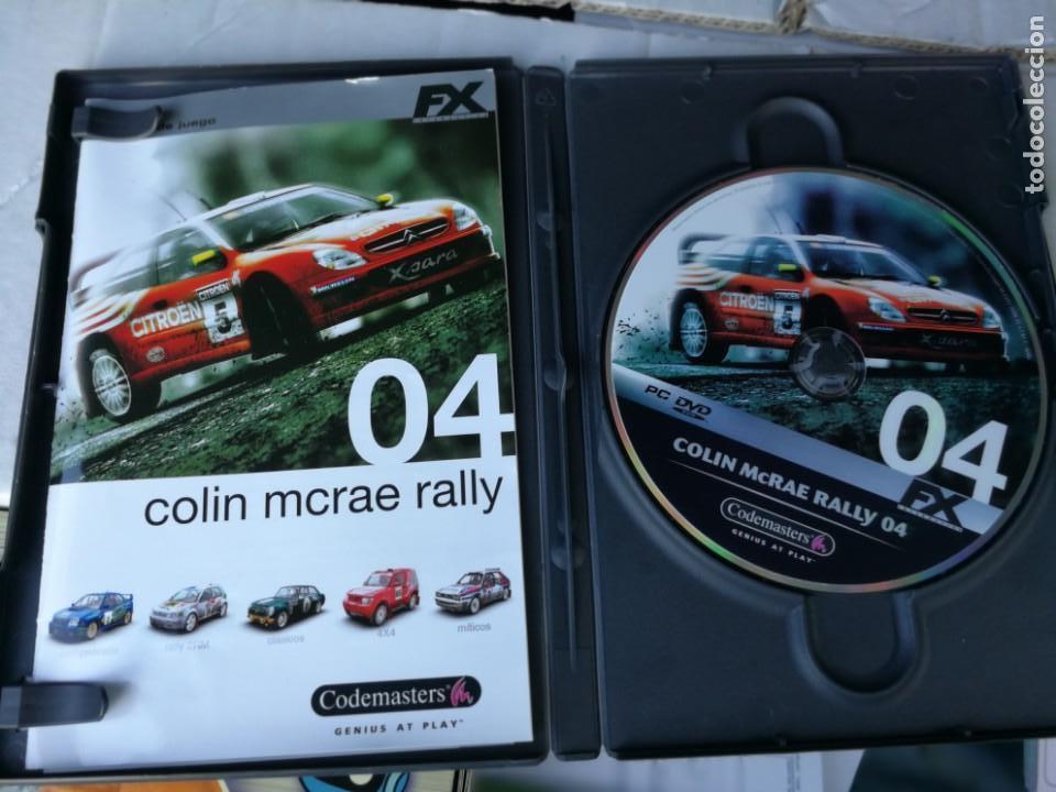 Videojuegos y Consolas: JUEGO PC COLIN MCRAE RALLY 04 - Foto 2 - 171115004