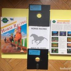 Videojuegos y Consolas: JUEGO ORDENADOR PC 5'25: HORSE RACING (DRO SOFT, 1989) VINTAGE. COMPLETO ¡ORIGINAL!. Lote 171175055