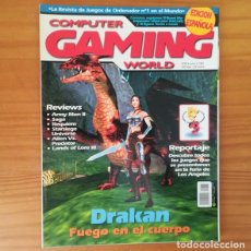 Videojogos e Consolas: COMPUTER GAMING WORLD 43, JUNIO 1999. DRAKAN, LANDS OF LORE III, ALIEN VS. PREDATOR, E3, LIATH.... Lote 171180687