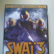 Videojuegos y Consolas: SWAT 3 CLOSE QUARTERS BATTLE SIERRA PAL ESPAÑA PC. Lote 171185412