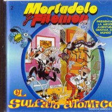 Videojuegos y Consolas: MORTADELO Y FILEMÓN EL SULFATO ATÓMICO ( CD - ROM PRECINTADO). Lote 171234449