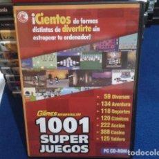Videojuegos y Consolas: PC 1001 SUPER JUEGOS(CIENTOS DE FORMAS DISTINTAS DE DIVERTIRTE SIN ESTROPEAR TU ORDENADOR) DIGERATI. Lote 171321668