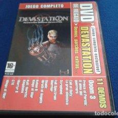 Videojuegos y Consolas: PC + DVD GAME LIVE Nº 45 ( DEVASTATION - JUEGO COMPLETO ) 11 DEMOS + CD 2 DELTA FORCE LAND WARRIOR. Lote 171322409