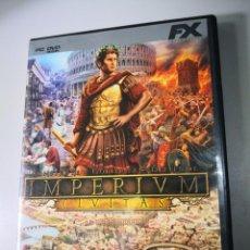 Videojuegos y Consolas: IMPERIUM CIVITAS PC DVD FX - JUEGO ORDENADOR-ENVÍO CERTIFICADO 4,99. Lote 171387595