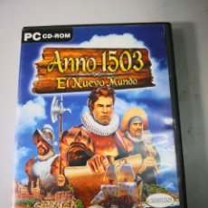 Videojuegos y Consolas: ANNO 1503 PC CD ROM - JUEGO GAME CON SU MANUAL ENVÍO CERTIFICADO 4,99. Lote 184083471