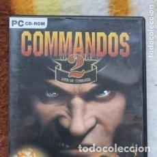 Videojuegos y Consolas: PC CD-ROM COMMANDOS 2 . Lote 171790724