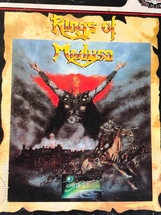 Videojuegos y Consolas: Rings of medusa 1990 para pc starbyte - Version española - Foto 2 - 171827035