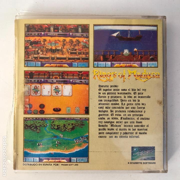 Videojuegos y Consolas: Rings of medusa 1990 para pc starbyte - Version española - Foto 5 - 171827035