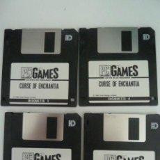 Videojuegos y Consolas: JUEGO PC 4 DISKETE 3,5 CURSE OF ENCHANTIA 1992. Lote 171829693