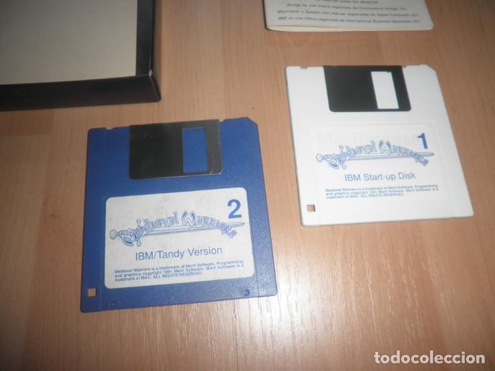 Videojuegos y Consolas: PC 3 1/2 MEDIEVAL WARRIORS COMPLETO. SYSTEM 4. ESTRATEGIA. MUY RARO - Foto 5 - 171996210