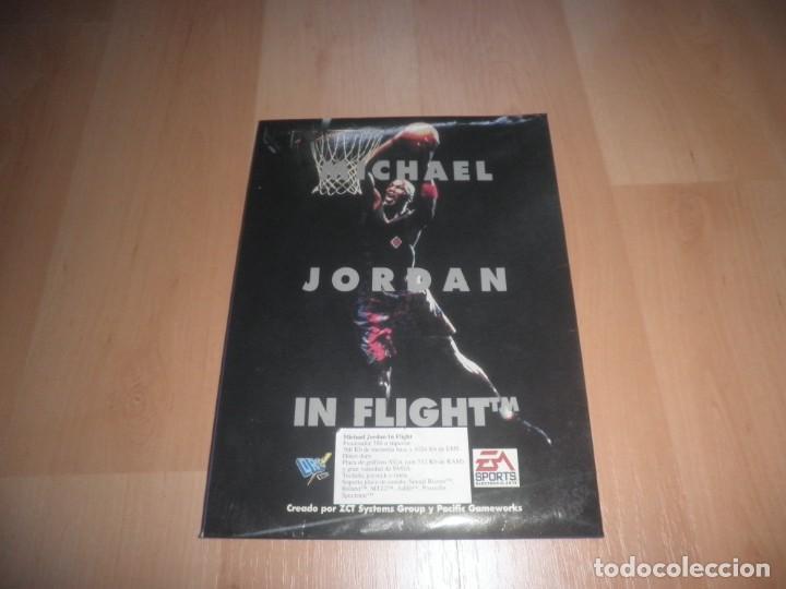 CAJA VACIA 3 1/2 5 1/4 LARRY JORDAN IN FLIGHT. PC SUPERJUEGOS (Juguetes - Videojuegos y Consolas - PC)