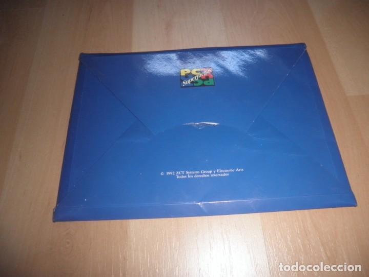 Videojuegos y Consolas: CAJA VACIA 3 1/2 5 1/4 LARRY JORDAN IN FLIGHT. PC SUPERJUEGOS - Foto 2 - 172018729