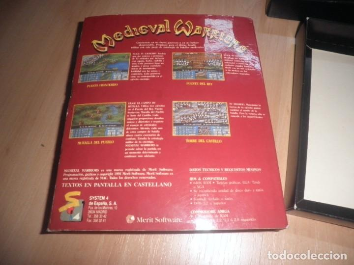 Videojuegos y Consolas: PC 3 1/2 MEDIEVAL WARRIORS COMPLETO. SYSTEM 4. ESTRATEGIA. MUY RARO - Foto 3 - 171996210