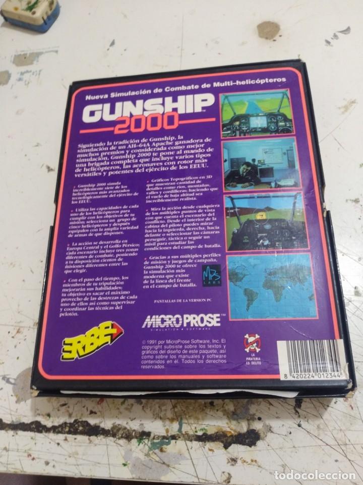 JUEGO PC DISQUETE GUNSHIP 2000 ERBE CAJA GRANDE R (Juguetes - Videojuegos y Consolas - PC)