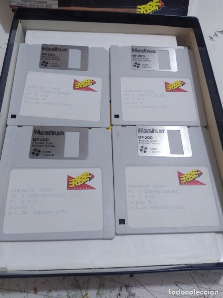 Videojuegos y Consolas: Juego pc disquete gunship 2000 erbe caja grande r - Foto 2 - 172140333