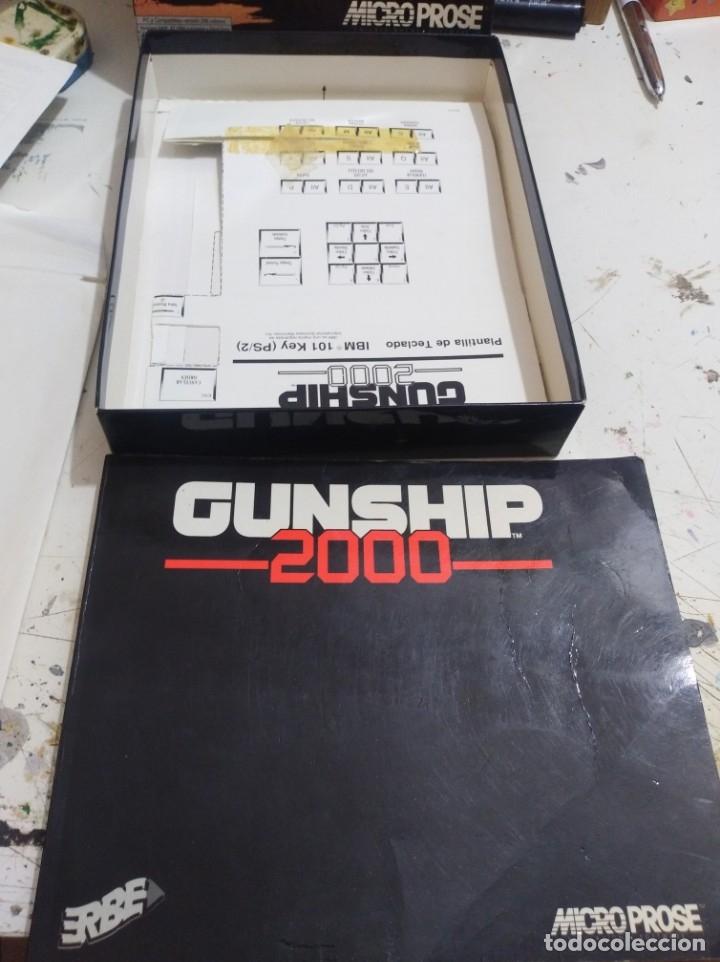 Videojuegos y Consolas: Juego pc disquete gunship 2000 erbe caja grande r - Foto 4 - 172140333