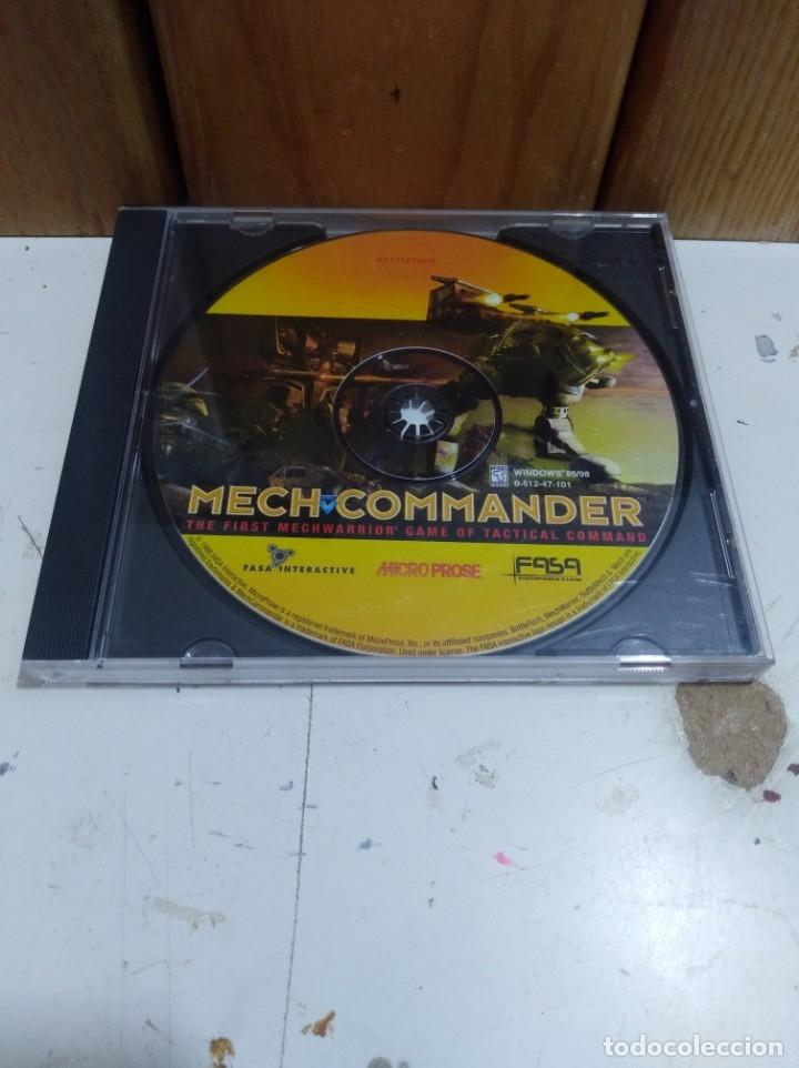 JUEGO PC MECH COMMANDER (Juguetes - Videojuegos y Consolas - PC)