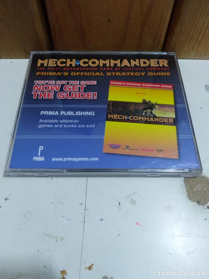 Videojuegos y Consolas: JUEGO PC mech commander - Foto 2 - 172144858