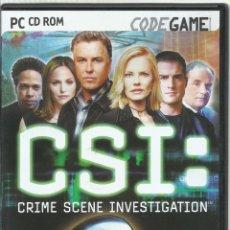 Videojuegos y Consolas: CSI: CRIME SCENE INVESTIGATION. Lote 172268638