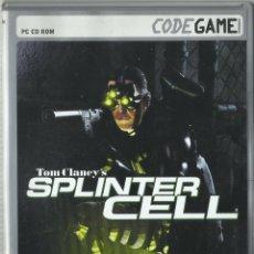 Videojuegos y Consolas: SPLINTER CELL. Lote 172268960