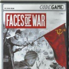 Videojuegos y Consolas: FACES OF WAR. Lote 172269015