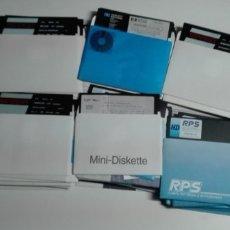 Videojuegos y Consolas: 160 ANTIGUOS DISKETTES DE 5,25 (5 1/4) PULGADAS (FORMATEADOS PARA WINDOWS). Lote 172378514