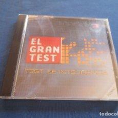 Videojogos e Consolas: PC - EL GRAN TEST ? EL CD-ROM OFICIAL - TEST DE INTELIGENCIA - PRODUCTO OFICIAL ANTENA 3 - PC / MAC. Lote 172691808