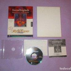 Videojuegos y Consolas: KING'S QUEST VII ( THE PRINCELESS BRIDE ) - PC CD-ROM - SIERRA ORIGINALS - AVENTURA GRAFICA. Lote 172856065