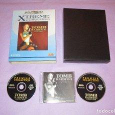 Videojuegos y Consolas: TOMB RAIDER II ( STARRING LARA CROFT ) - PC CD ROM - EIDOS - PROEIN XTREME COLLECTION - CAJA GRANDE. Lote 172856748