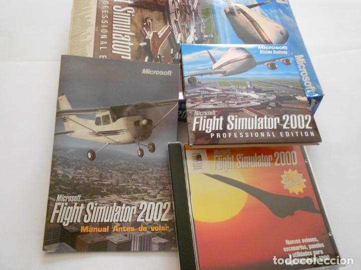 Videojuegos y Consolas: ANTIGUO JUEGO PARA PC - FLIGHT SIMULATOR 2000 Y 2002 EDICION PROFESIONAL - Foto 2 - 172913132