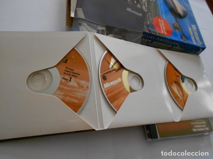 Videojuegos y Consolas: ANTIGUO JUEGO PARA PC - FLIGHT SIMULATOR 2000 Y 2002 EDICION PROFESIONAL - Foto 3 - 172913132