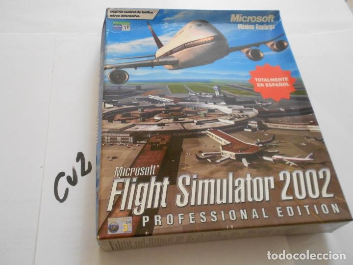 ANTIGUO JUEGO PARA PC - FLIGHT SIMULATOR 2000 Y 2002 EDICION PROFESIONAL (Juguetes - Videojuegos y Consolas - PC)