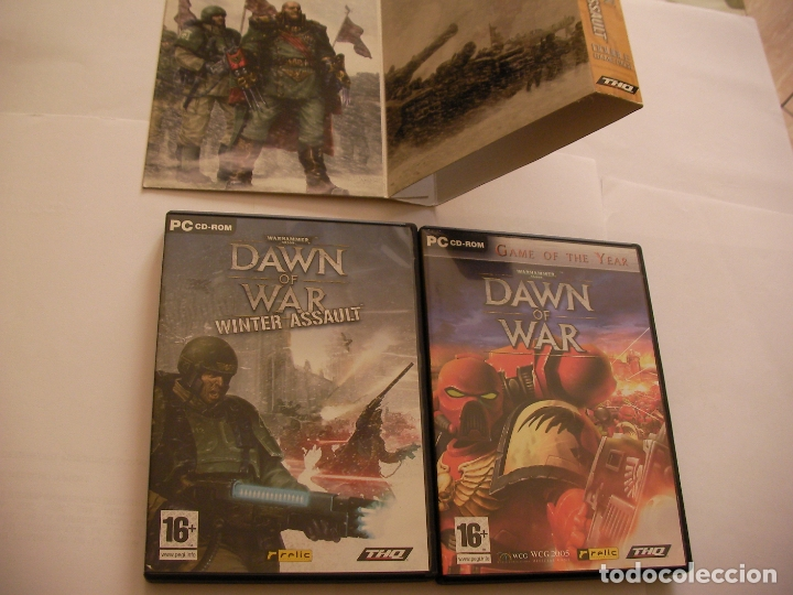 Videojuegos y Consolas: ANTIGUO JUEGO PARA PC - PACK DOBLE JUEGO ( DAWN OF WAR Y DAWN OF WAR WINTER ASSAULT) - Foto 2 - 172913609