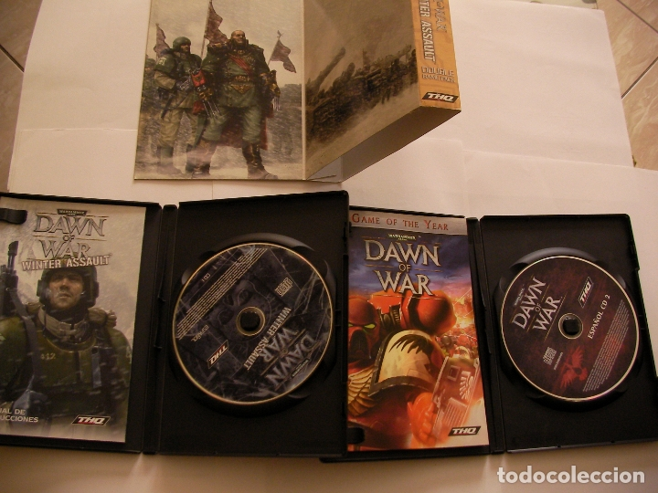 Videojuegos y Consolas: ANTIGUO JUEGO PARA PC - PACK DOBLE JUEGO ( DAWN OF WAR Y DAWN OF WAR WINTER ASSAULT) - Foto 3 - 172913609