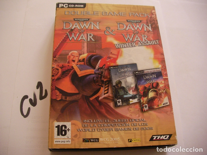 ANTIGUO JUEGO PARA PC - PACK DOBLE JUEGO ( DAWN OF WAR Y DAWN OF WAR WINTER ASSAULT) (Juguetes - Videojuegos y Consolas - PC)